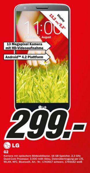 LG G2 16GB für 299€ Lokal [Mediamarkt Paderborn]