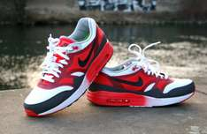 Nike Air Max 1 C2.0 White/Black-Light Crimson-Dark Grey  @endclothing.co.uk