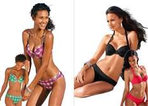 LASCANA & BUFFALO Bikini Sets Bügel & Push-up verschiedene Farben 15,00 [eBay]