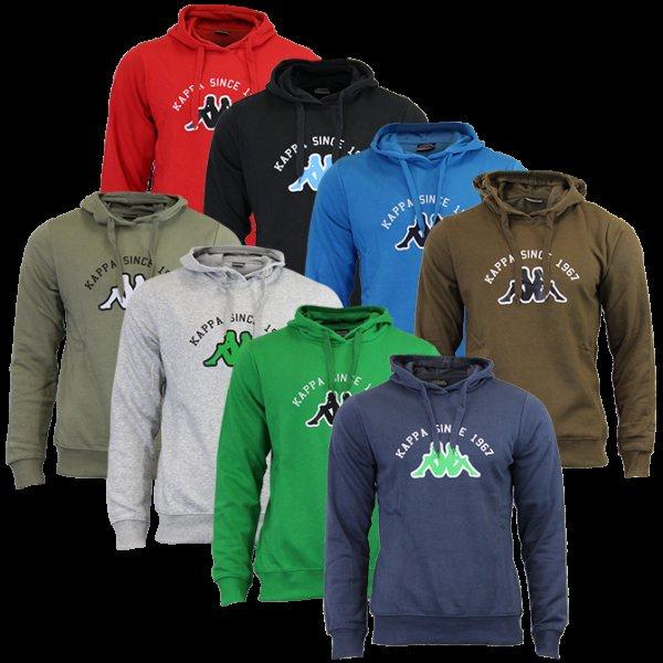 Kappa Hoodie Sweatshirt in 8 Farben für je 19,99€ @ Ebay