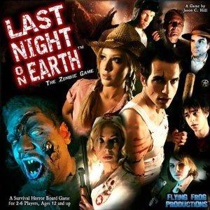 Zombie-Brettspiel Last night on Earth (Englisch) zum Killerpreis @Amazon.de