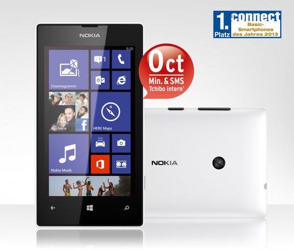 Nokia Lumia 520 für nur 89 Euro bei Tchibo - aktuell niedrigster Preis