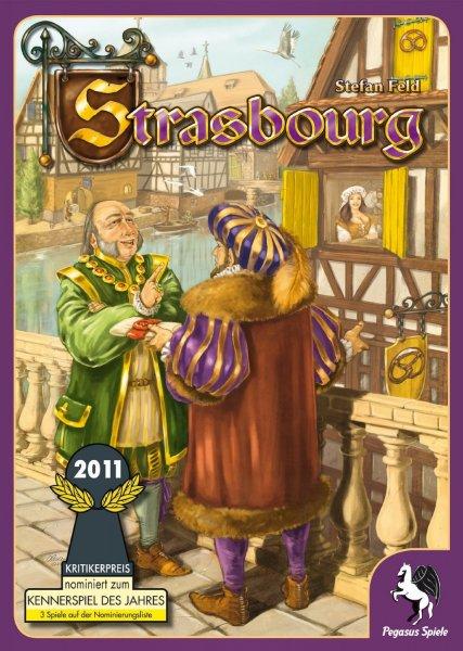 Brettspiel - Strasbourg von Stefan Feld