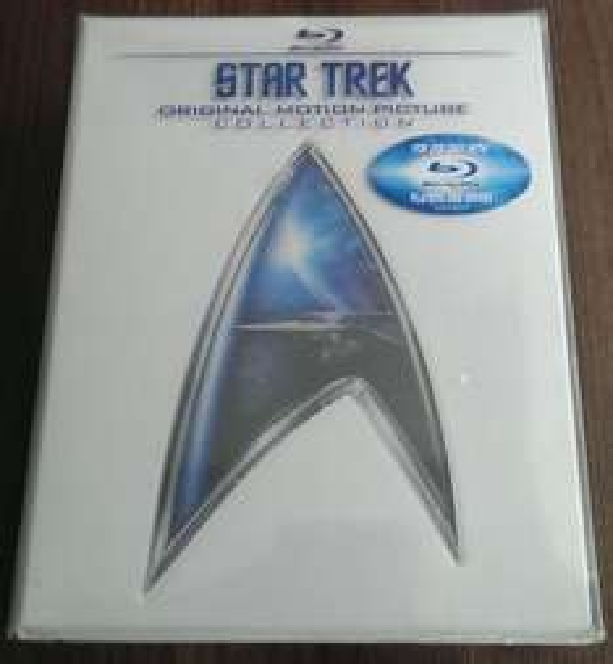 Star Trek Alle Filme - Teile 1-6 als Blu-ray Version für 44,44€/PVG ca.60€