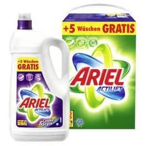 [real.-] Ariel Pulver oder Flüssig 88 Waschladungen 12,99€ (0,15€/Waschladung) nur am Di.22.04.