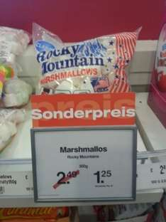 Rocky Mountains Marshmallos 300g für 1,25 € - 1 € scondoo