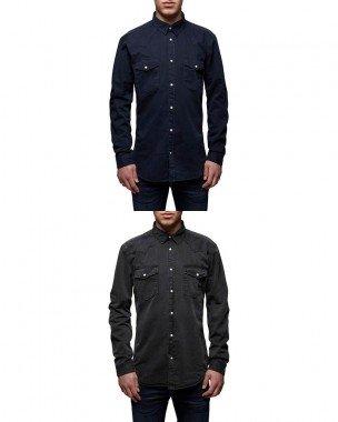 JACK & JONES Herren Freizeithemd in zwei Farben für je 24,95€ plus 3,90€ VSK