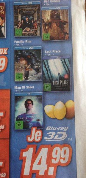 [Lokal - Expert Franken] 3D-BluRays für 14,99- (Man of Steel, Der große Gatsby, Pacific Rim...)