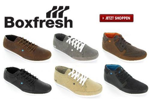 Boxfresh Schuhe und Kleidung - ausgesuchte Modelle halber Preis ! @boxfresh.co.uk/