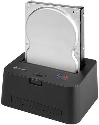 HDD-Dockingstation SATA + IDE - Sharkoon Quickport Combo, USB 3.0
