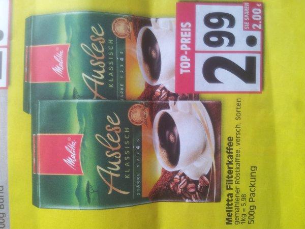 [Lokal Minden]Edeka röthemeier 500g Melitta Filterkaffee für 2,99€