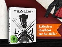 Wolverine - Weg des Kriegers (Blu-ray)(Steelbook) für 11,99€ @Müller