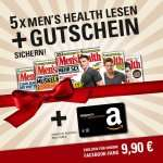 5x Menx27s Health / Womens Health / Runners World für 9,90€ mit 10€ Amazon-Gutschein