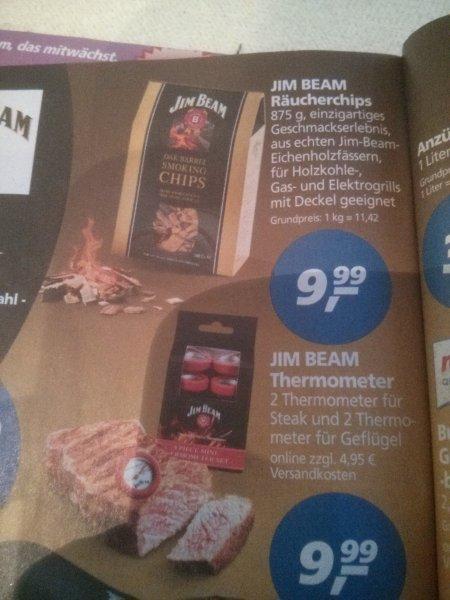[lokal]Real Jim Beam Landmann HolzChips+Weber Bücher+...