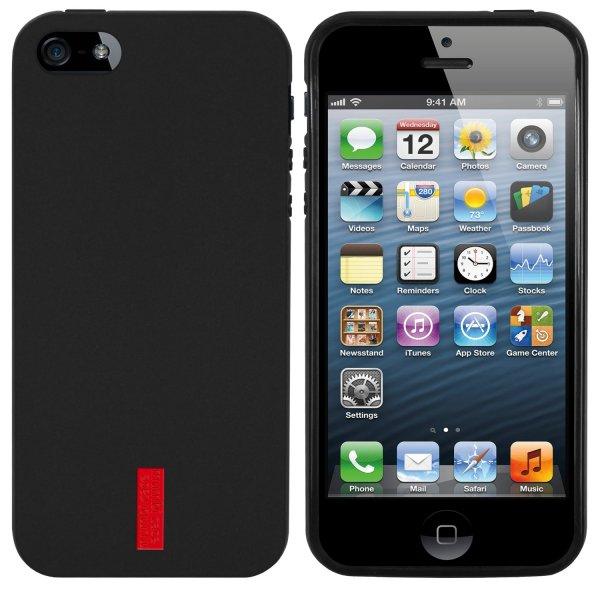 Amazon mumbi TPU Silikon Schutzhülle iPhone 5 5S Hülle schwarz