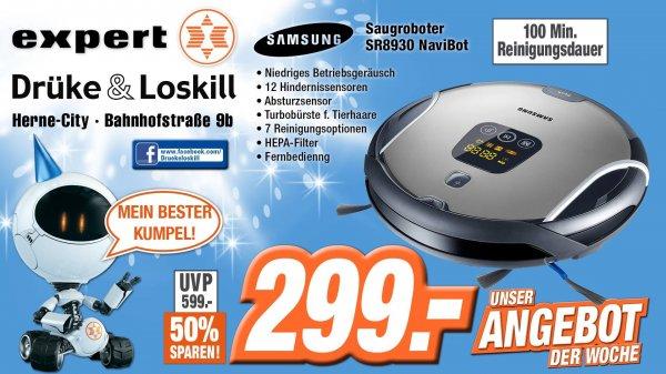 (Expert-Herne)  Samsung SR8930 NaviBot Staubsaugerroboter 299€