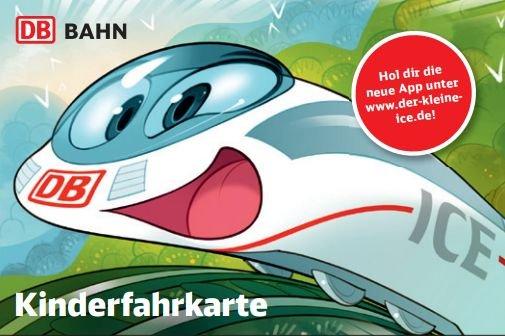 """[DB-ICE] """"Kinderfahrkarte"""" kostenlos mitfahren + ICE-Spielfigur + Malbuch """"Leselok"""" + Stifte"""