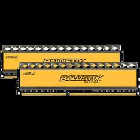 Crucial Arbeitsspeicher 16 GB (1600MHz, CL8, 2x 8GB) DDR3-RAM Kit
