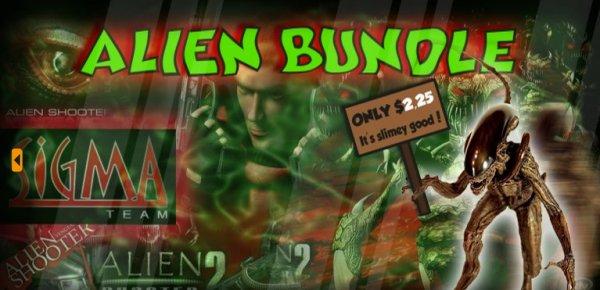 [STEAM] Bundle Bandits: Alien Steam Bundle - 5 Spiele für umgerechnet 1,63€!
