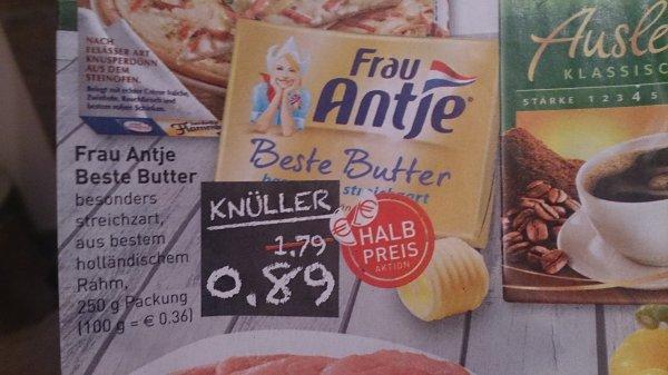 Frau Antje beste Butter ( Lokal Bielefeld und Umgebung) 0,89€