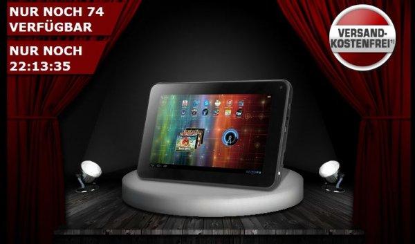 "Tablet Prestigio MultiPad 7.0 HD black mit 7"" Display, 1GB RAM, 4GB und Android 4.1 @One.de für 44,44 €"