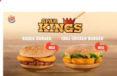 Burgerking - Rodeo Burger oder Chili Chicken für je 1,49 € (Neu im Spar-King-Sortiment)