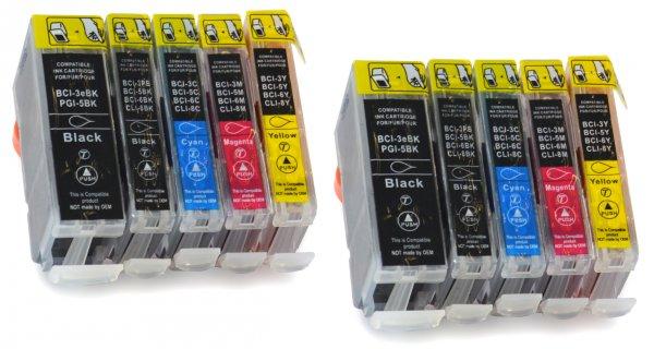 10 kompatible Druckerpatronen für 10€ (Epson, HP, Canon, Brother) - Gutdrucken.de