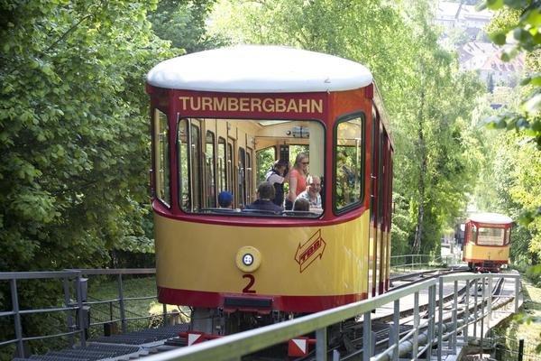 KARLSRUHE - Turmbergbahn und Schlossgartenbahn KOSTENLOS - zeitlich unbegrenzt möglich