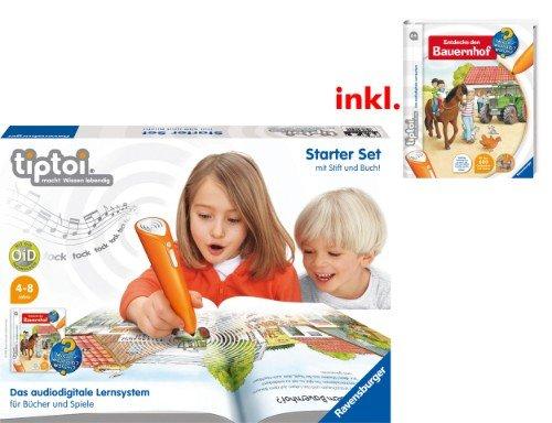 tiptoi: Starter-Set mit Stift und Buch / Spiel (mytoys.de) reduziert + Gutschein + Newsletteranmeldung + QIPU