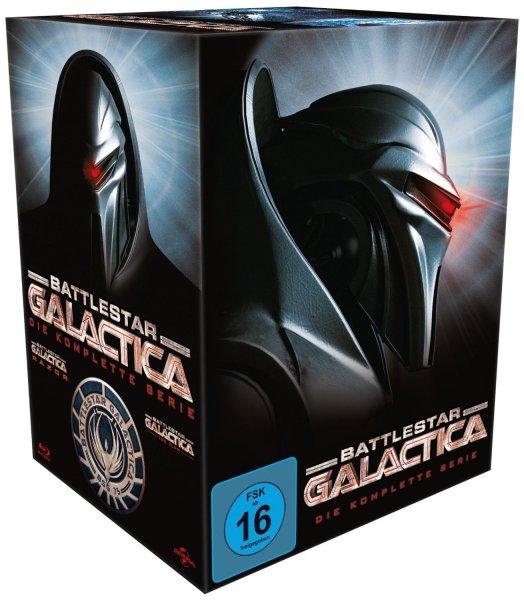 [amazon. de] Battlestar Galactica - Season 1-4/Die komplette Serie [Blu-ray]  für 36,50 € (Tiefstpreis)