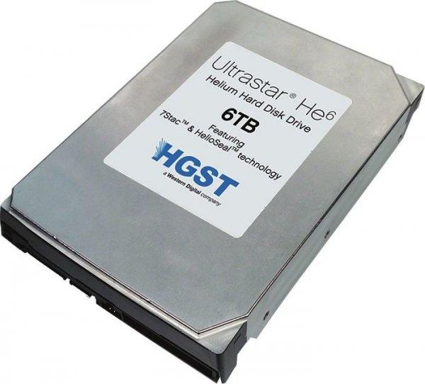 Die größte Festplatte: HGST Ultrastar HE6 6TB - über 100€ günstiger als letzte Woche...