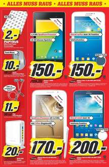 Media Markt Waiblingen Nexus 7 Galaxy Tab 3DS XL