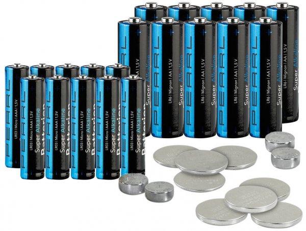 [ebay] 32-teilig Batterie-Set mit Alkaline- und Lithium-Zellen