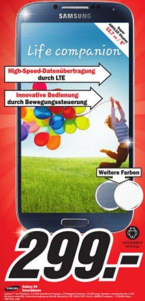 [MM Stuttgart-City + Feuerbach] Samsung Galaxy S4 für 299€ & S4_Mini für 199€