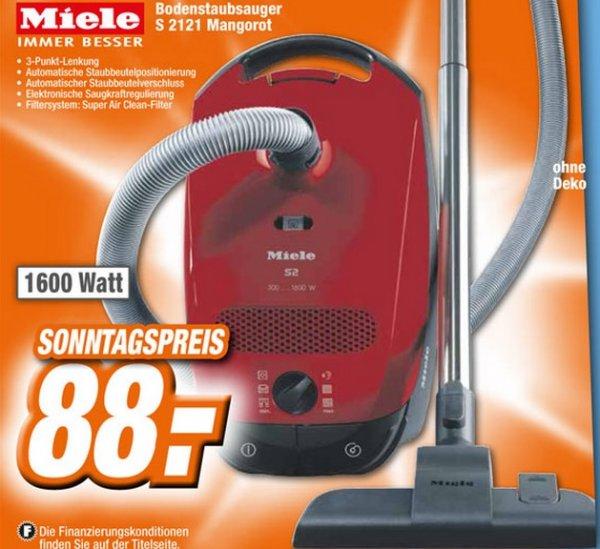 Miele S 2121 für 88€ Sonntagspreis Lokal [Expert Rastatt,Bühl]