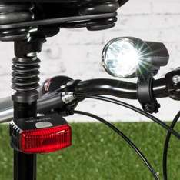 [ALDI Nord] LED-Fahrrad-Lampenset