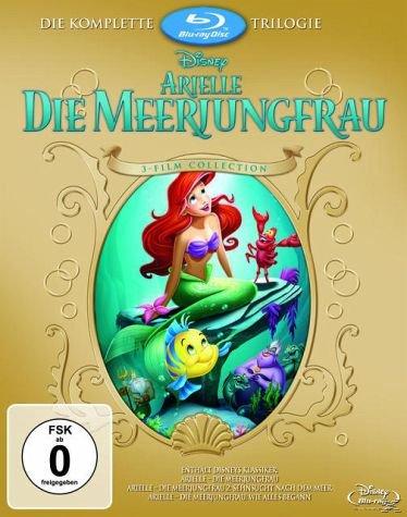 [Bücher.de] *DISNEY* Arielle - Die Meerjungfrau (Trilogie) Blu Ray 25,99 € inkl. Versand