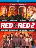 Red (2010) & Red 2 (2013) Blu-ray für 13,99€ @Cede