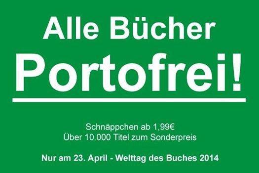 15.000 reduzierte Bücher ab 1€ portofrei @terrashop - Nur heute
