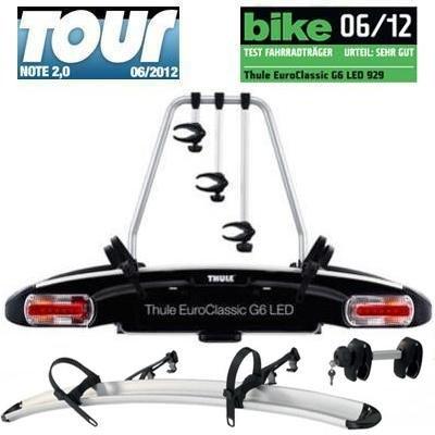 Thule Set Fahrradträger EuroClassic G6 929 + Halter 9281 für 526,95€