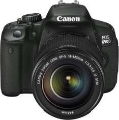 Canon EOS 650D Kit 18-135 IS, 18,0 MP, Dual-AF, Touchscreen-Display für 730,76 @ Amazon Italien!