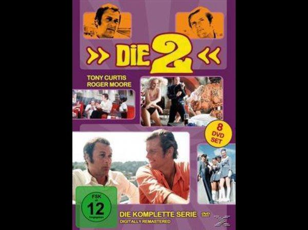Die 2 / Die Zwei (Special Collector's Edition) 1645634 Komplette TV-Serie [8 DVDs] € 24.- bei Abholung im Saturn, sonst zzgl. € 1,99 VSK @ saturn.de