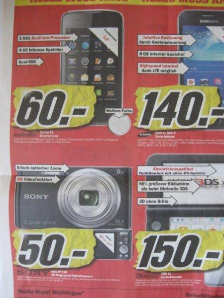 MM Waiblingen: Sony DSC-W 730 16Megapixel