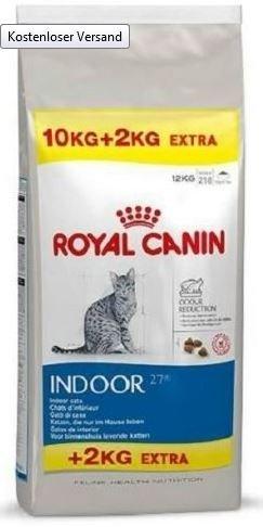 Katzenfutter: 12kg Royal Canin Indoor 27