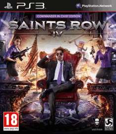 Saints Row 4: Commander in Chief Edition (PS3) für 15,71€ @Game