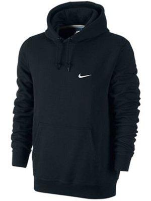 Nike Swoosh Club Hoody Herren schwarz für 28€ @Mysportswear