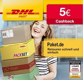 5€ Cashback von Qipu bei Neuregistrierung bei DHL-Paket