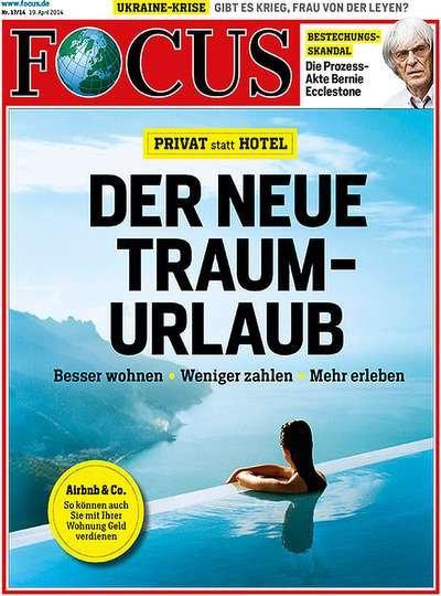 """Halbjahresabo des """"Focus"""" für effektiv 26,20€"""