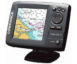 [compass24.de] GPS-Plotter Lowrance Elite 5M / Navigationsgerät