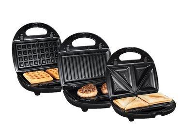 SILVERCREST® 3-in-1-Sandwichmaker für 24,94 €
